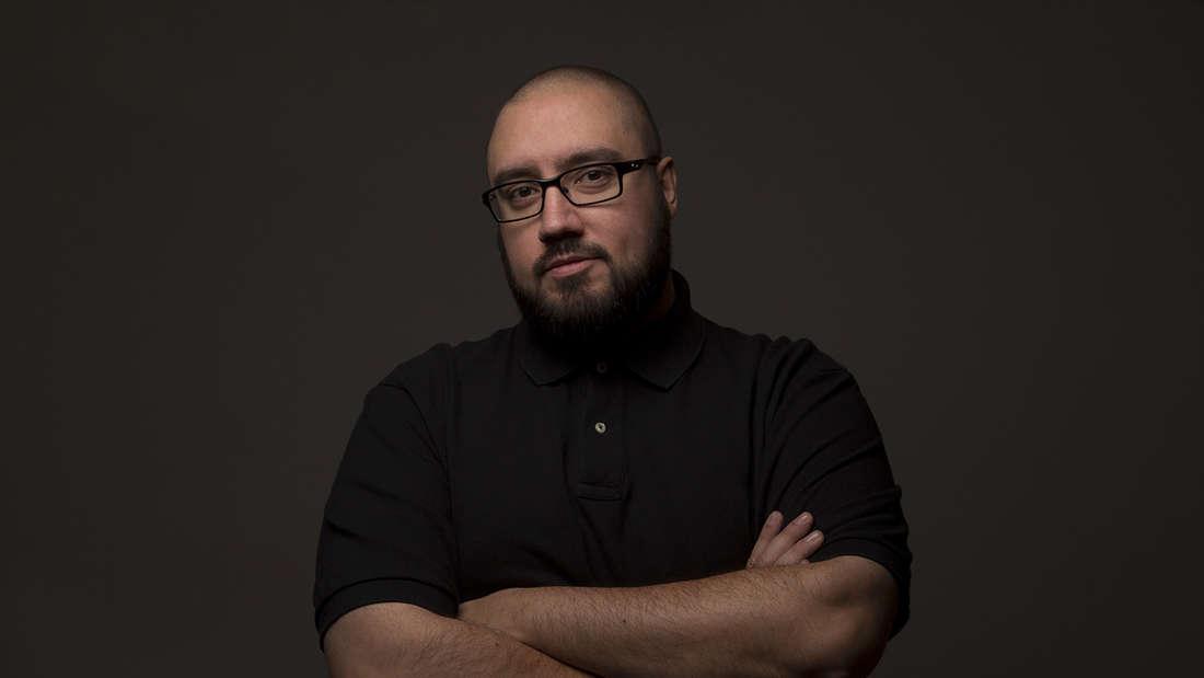 """Sieger des Online-Votings: Hakan Bozkurt (39):""""Eric Carstensen (50): """"Ich möchte Night Major werden, weil ich Perspektiven für das Nachtleben schaffen will."""""""