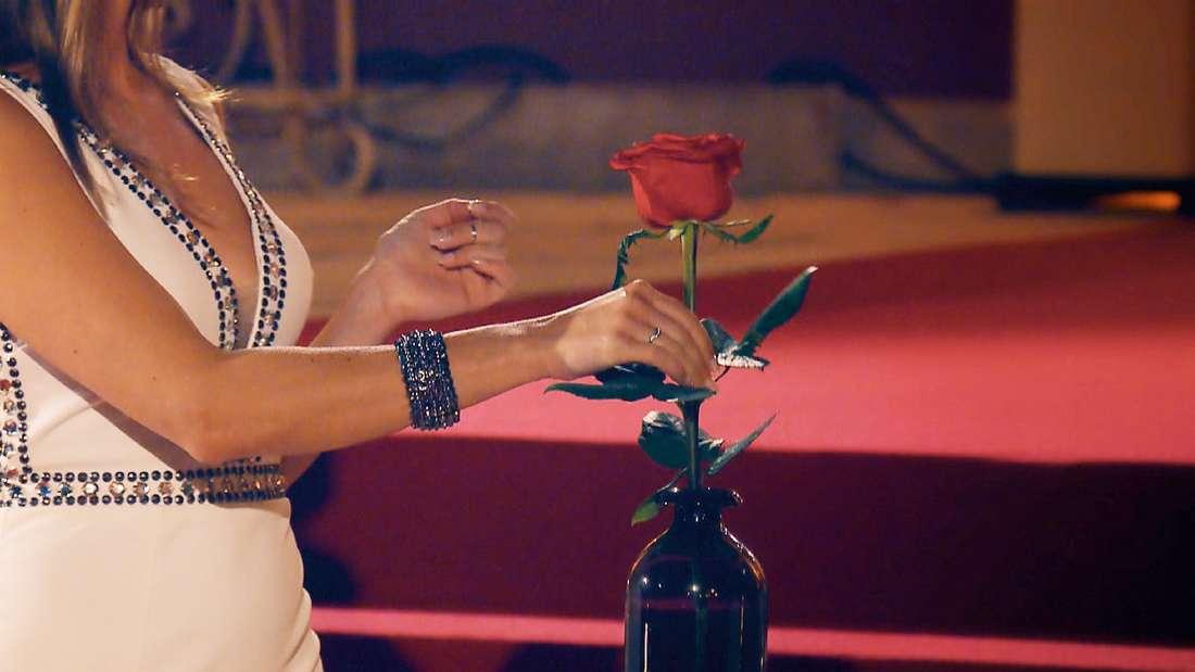 Jorgo beeindruckt Nadine so sehr, dass sie ihm die erste Rose des Abends gibt – und das schon beim Kennenlernen.