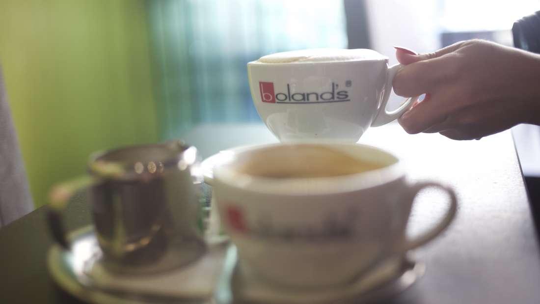 "Bei ""Boland's"" gibt's laut MANNHEIM24-Lesern den besten Kaffee in Mannheim."