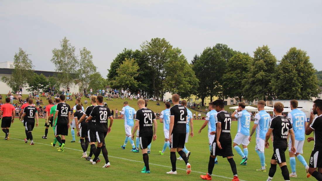 SV Sandhausen verliert Testspiel gegen TSV 1860 München.