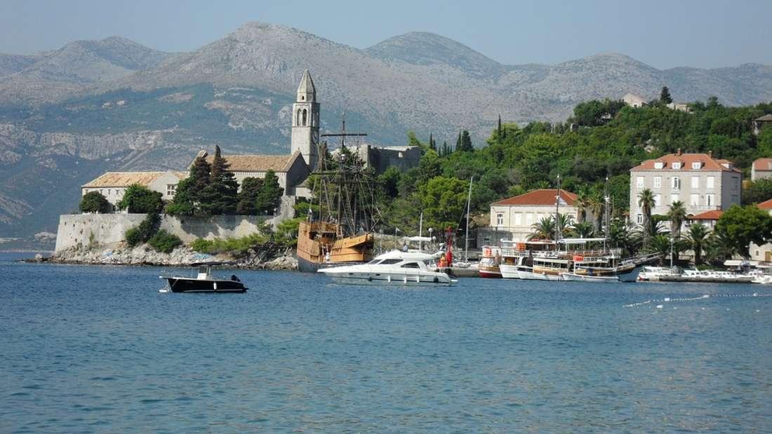 Lopud, Elaphiten vor Dubrovnik, Kroatien