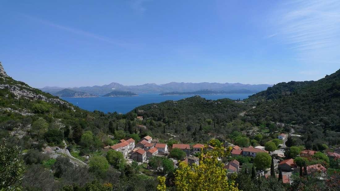 Mljet, Insel in der Region Dubrovnik, Kroatien