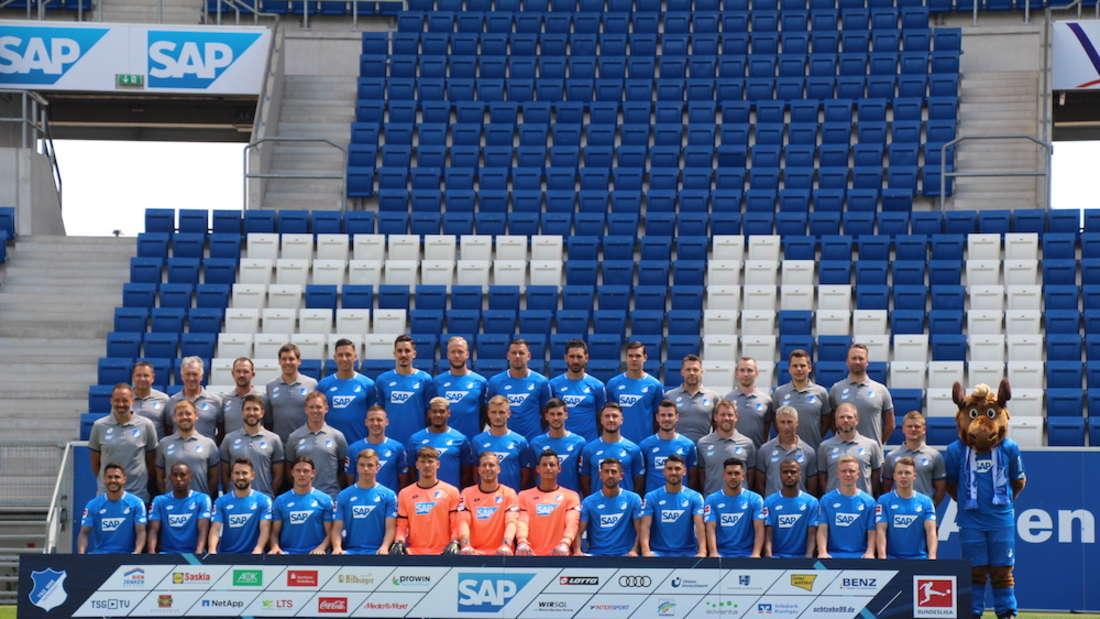 Die TSG 1899 Hoffenheim 2018/19.