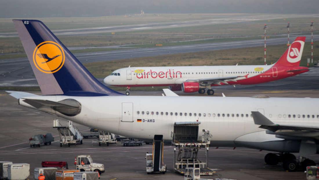 Die Integration von Air Berlin-Maschinen bei Billigflugtochter Eurowings soll im dritten Quartal abgeschlossen werden.