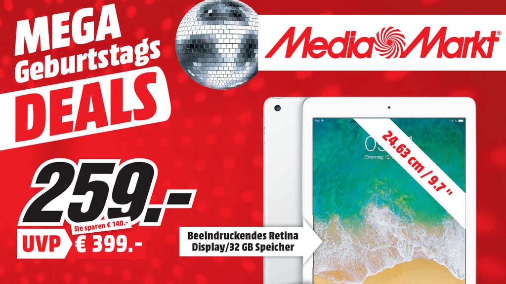 media markt feiert in heidelberg geburtstag mit mega deals region. Black Bedroom Furniture Sets. Home Design Ideas