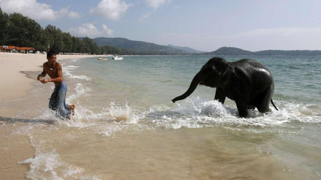 Strand an der Andamanensee, Phuket