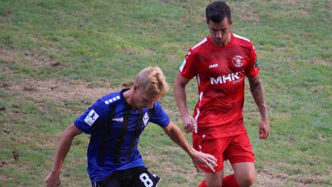 Regionalliga Südwest - 3. Spieltag: SV Waldhof Mannheim - SC Hessen Dreieich 4:2 (1:1)