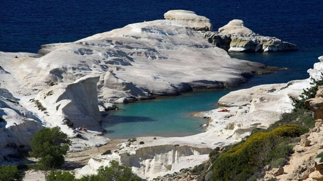 Bucht von Sarakiniko, Milos