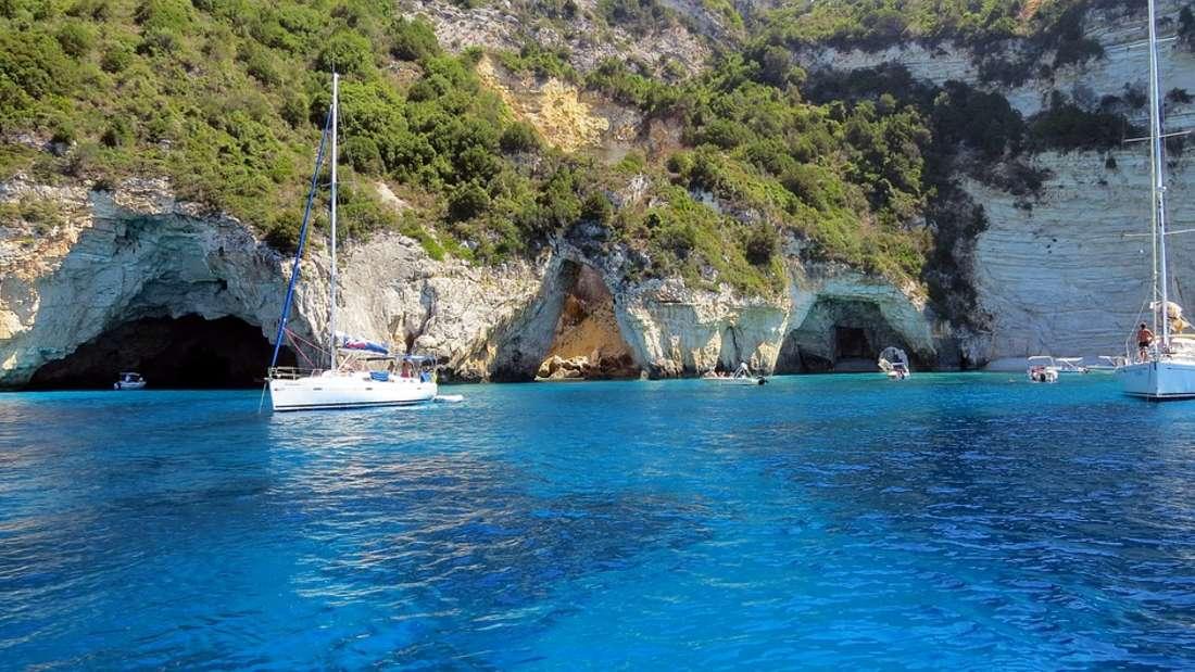 Voutoumi Bucht, Antipaxos