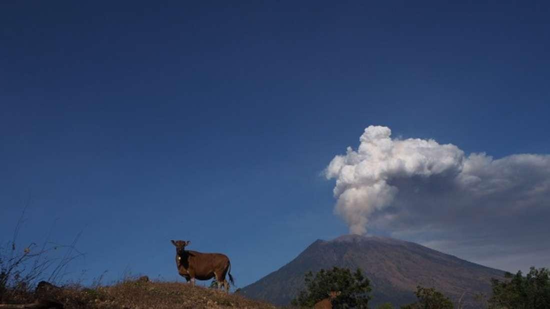 Vulkan Mount Agung.