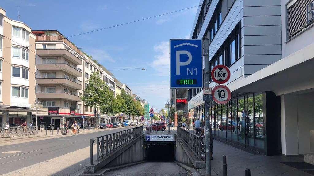 Parkhäuser In Mannheim