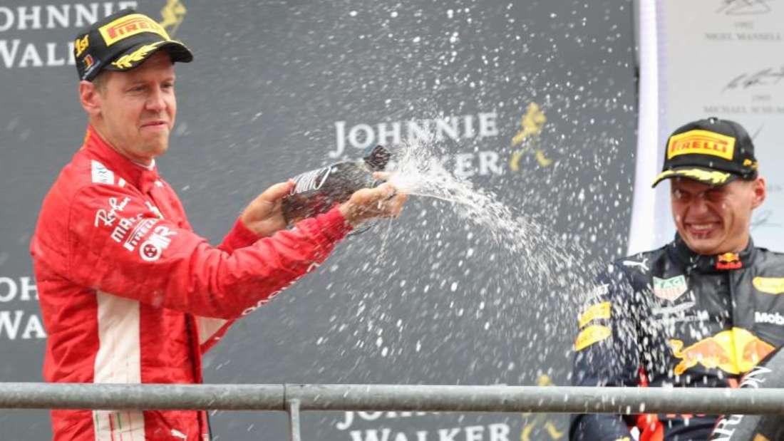 Sebastian Vettels Rückstand auf Lewis Hamilton beträgt nun 17 Punkte. Foto: Benoit Doppagne/BELGA