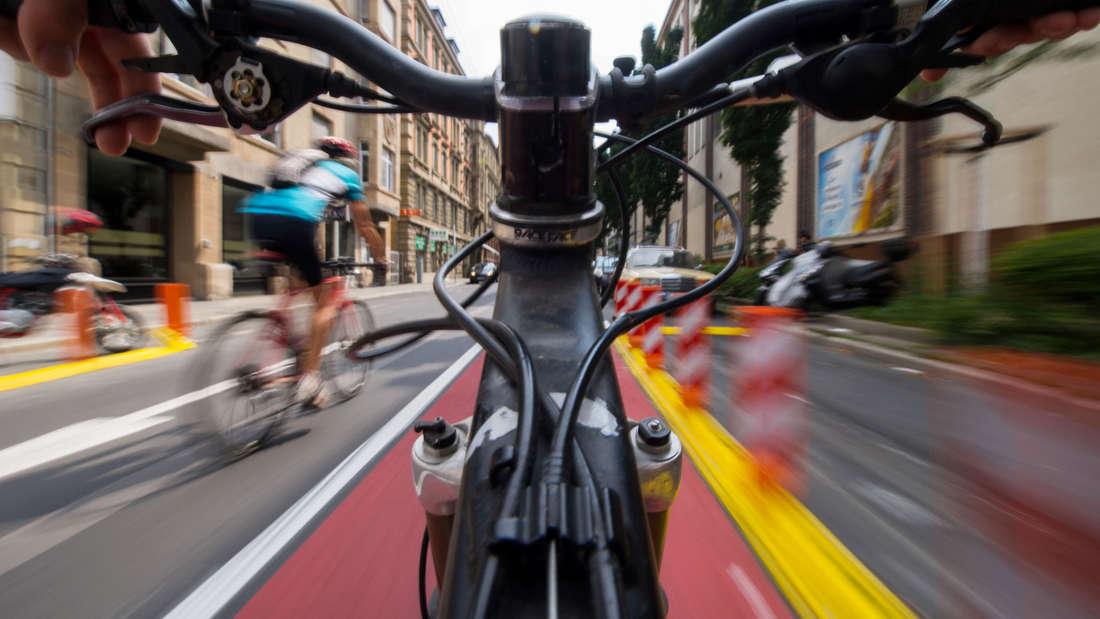 unfall bocholt fahrrad ohrfeige gebüsch streit polizei