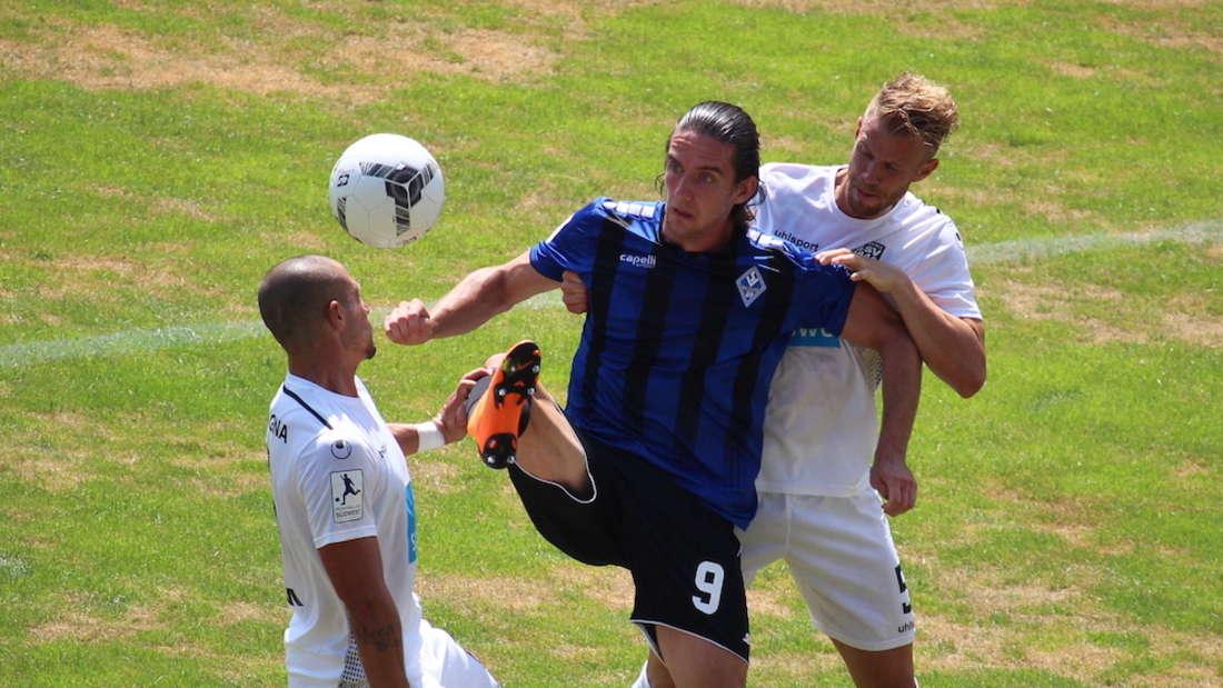 Valmir Sulejmani (M.) ist für das Heimspiel gegen Stadtallendorf fraglich.