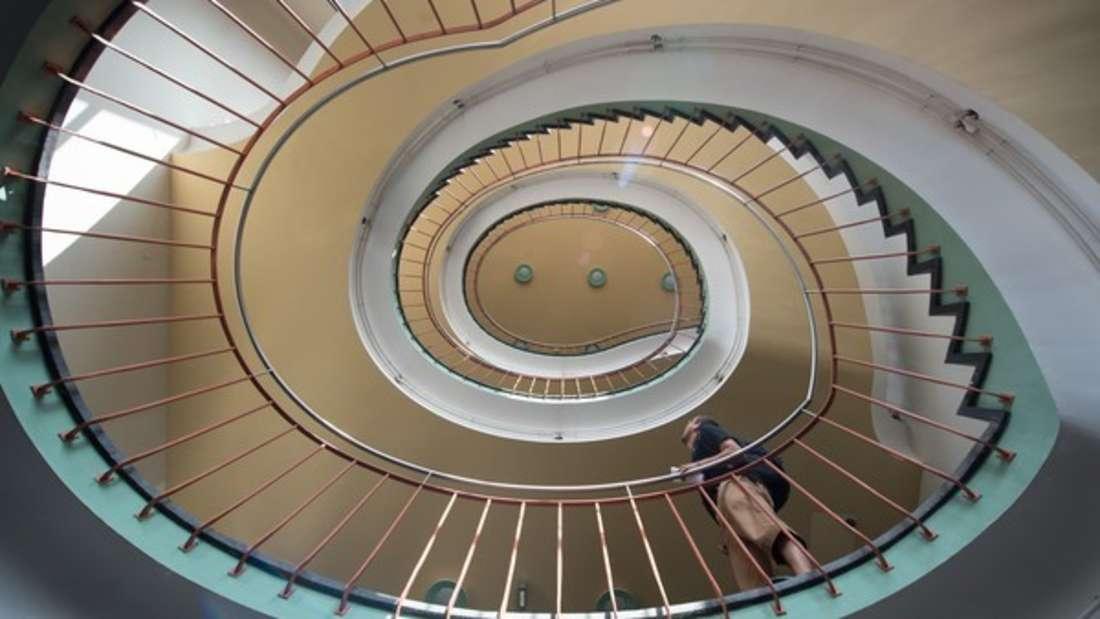 In manchen Treppenhäusern geht es hoch her - aber nicht verbal (Symbolbild).