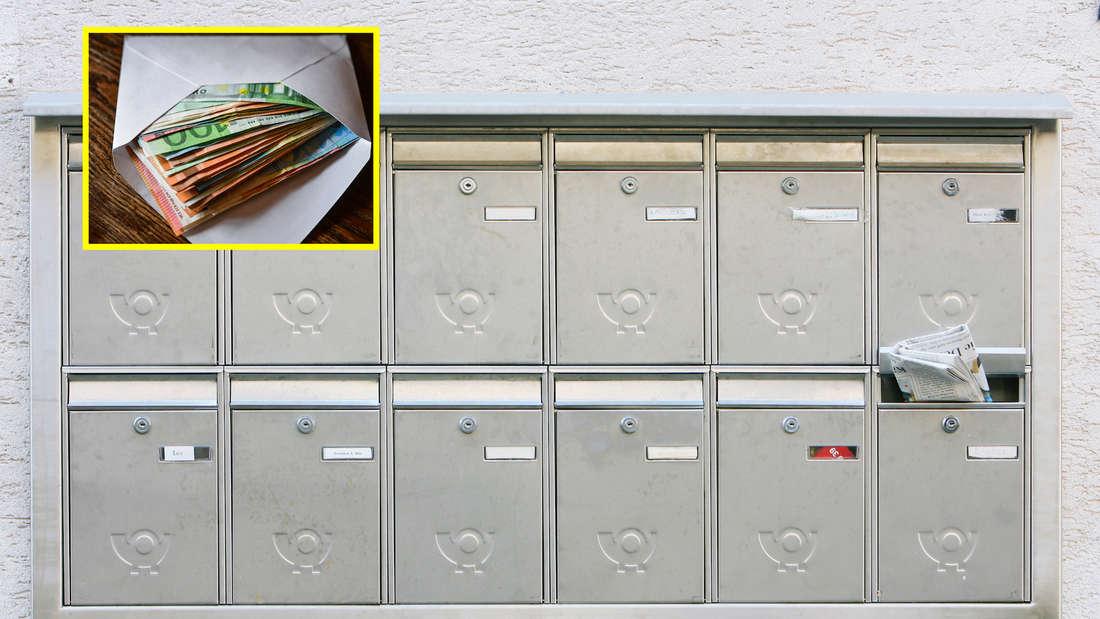 Mehrere Menschen in Mannheim finden Umschläge mit Geld in ihren Briefkästen. (Symbolfoto)