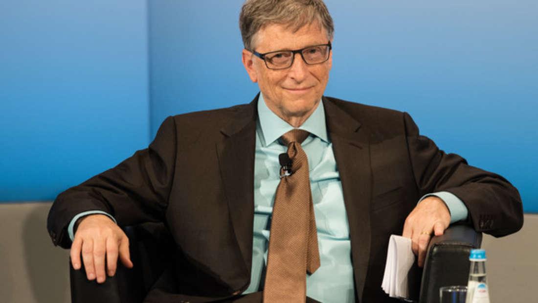 Bill Gates ist Multi-Milliardär - doch er lässt es sich nicht ankennen.