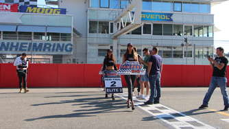 """Drivers start your engines"": NASCAR WES Halbfinale auf Hockenheimring"