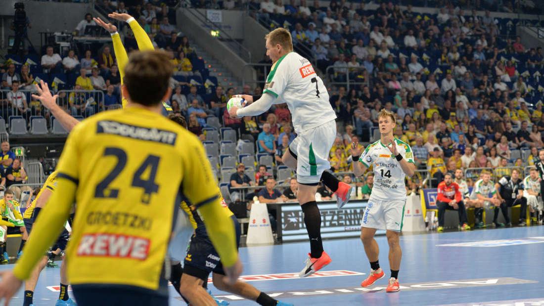 DKB Handball Bundesliga, 5. Spieltag: Rhein-Neckar Löwen gegen Leipzig