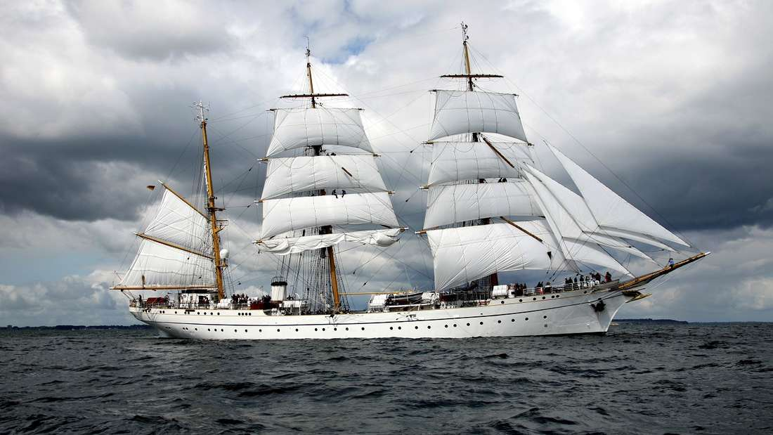 """Auf Segelschiffen kommt oft der """"Leichenfänger"""" zum Einsatz."""