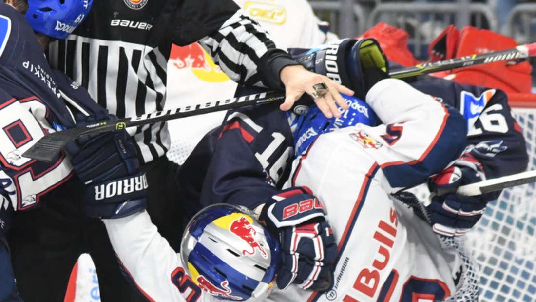DEL - 8. Spieltag: Adler Mannheim gegen EHC Red Bull München in der SAP Arena