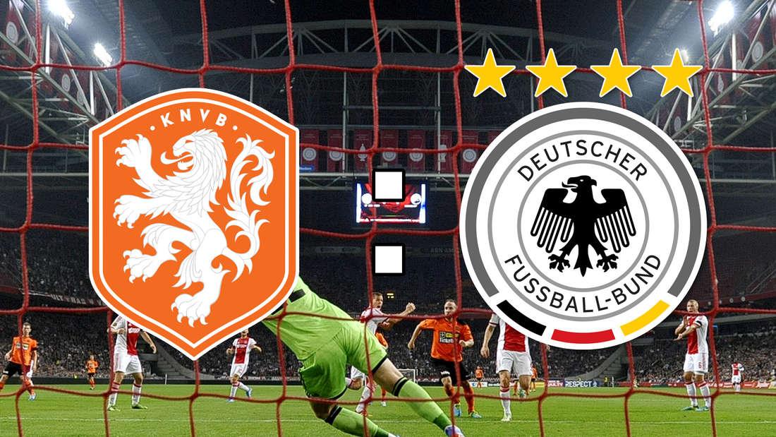 In derJohan-Cruyff-Arena in Amsterdam treffen die Niederlande und Deutschland aufeinander.