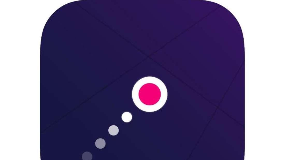 Bei «logi.» geht es darum, eine Puzzle-Strategie zu entwickeln, damit der Kreis sein Ziel erreicht. Foto: App Store von Apple