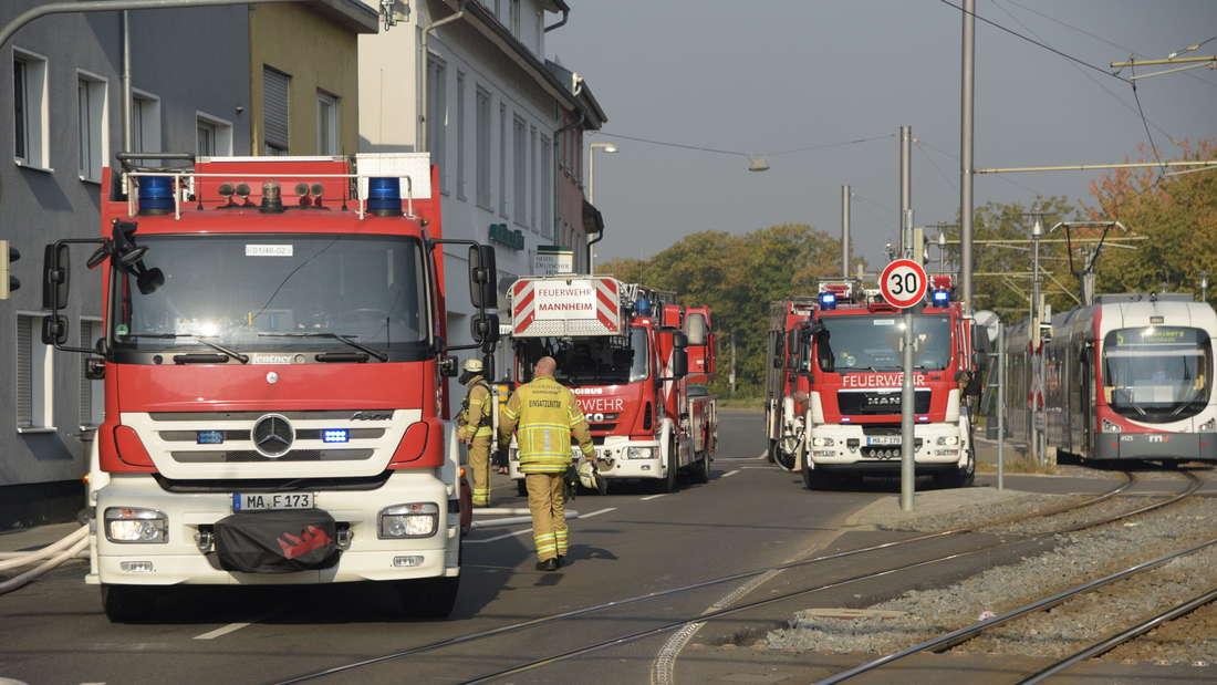 Feuerwehreinsatz in Seckenheim