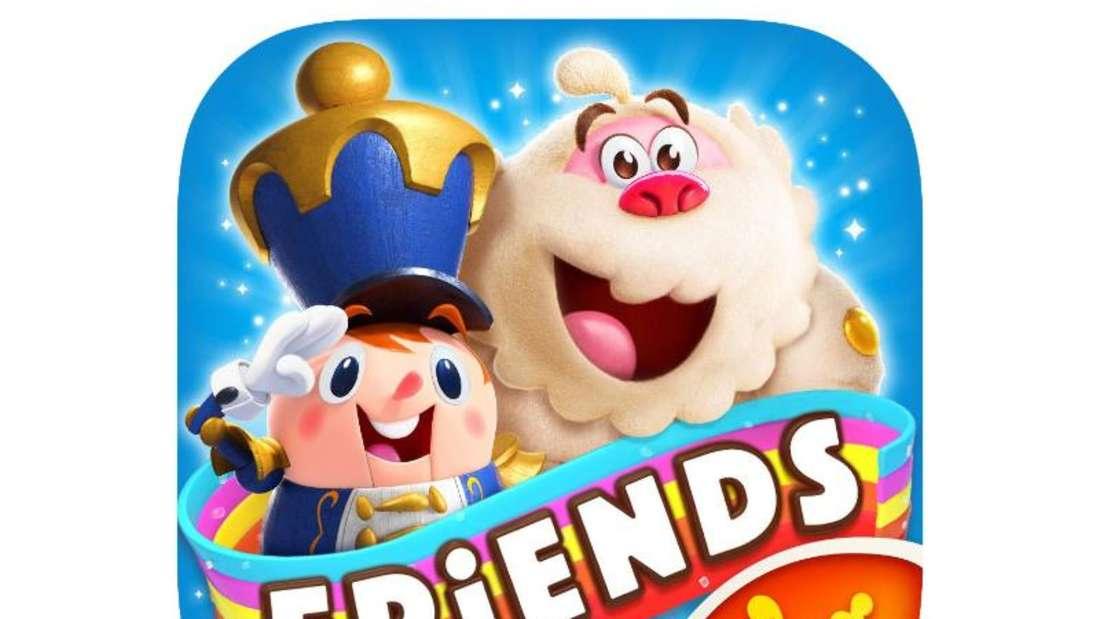 Neuer Spitzenreiter in den Game-Charts: das Puzzlespiel «Candy Crush Friends Saga». Foto: Appstore von Apple/dpa