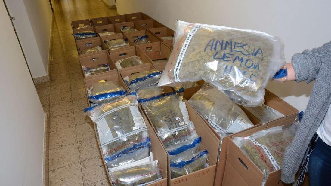 Landkreis Verden: Polizei macht riesigen Drogen-Fund - Verdächtiger in Oldenburg festgenommen.