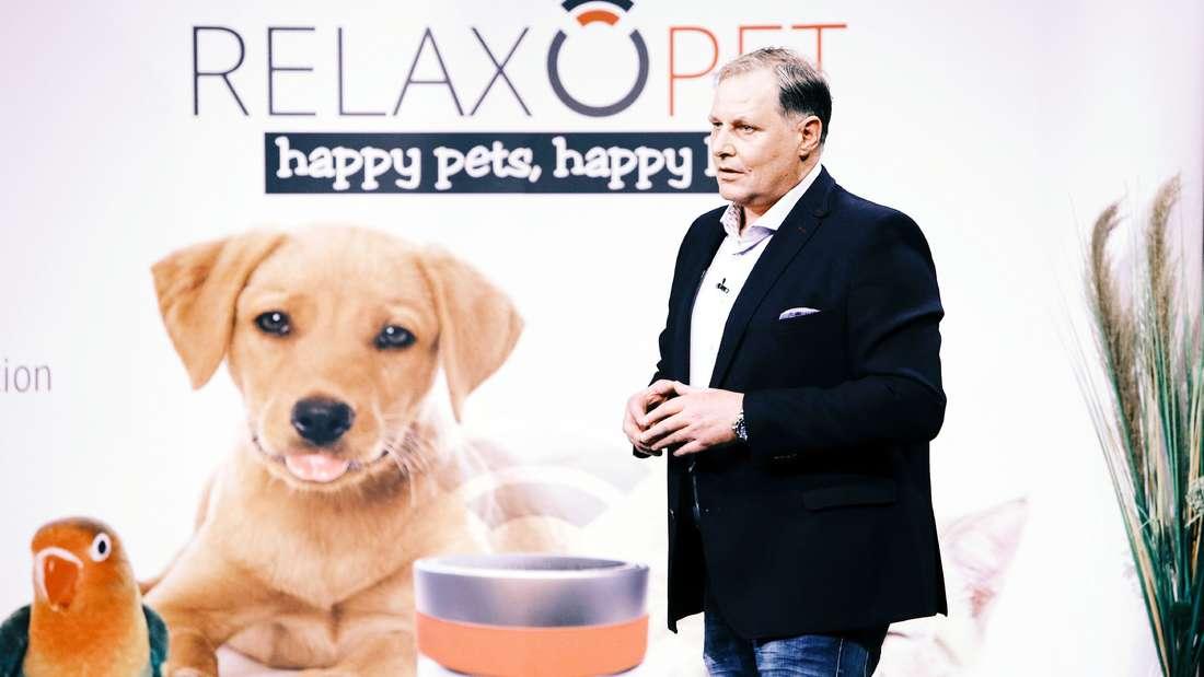"""Frank Bendix will mit """"RelaxoPet"""" gestresste Haustieren helfen."""