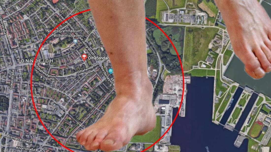 Wilhelmshaven: Überfall auf Betrunkenen - der muss ohne Hose Hilfe suchen.
