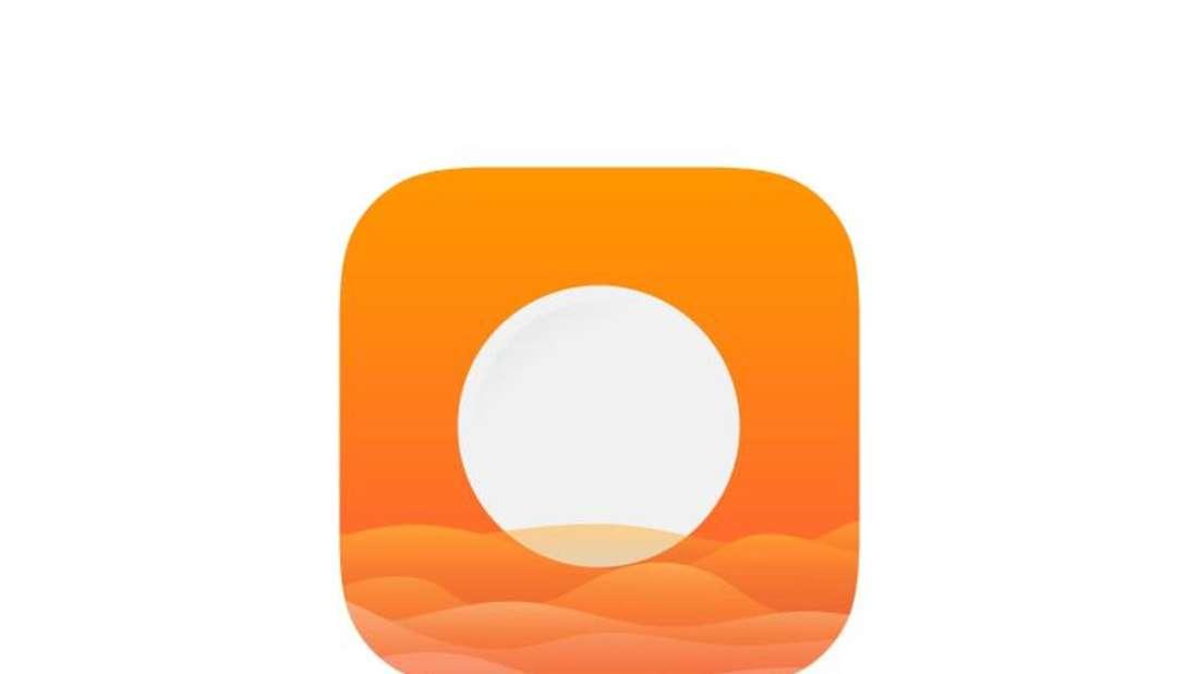 Berechnet den Stand der Sonne und simuliert ihn auf dem Handybildschirm: Die App «Helios - Magic Calculator» ist ein Nützliches Werkzeug für Footografen und Hobbyfilmer. Foto: App Store von Apple