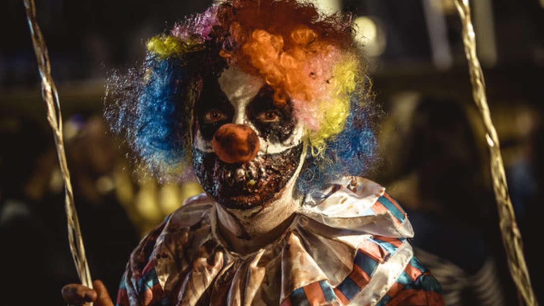 An Halloween sorgt das richtige Make-Up für mächtig Gruselstimmung.