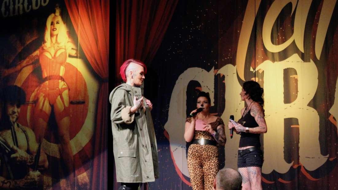 'Tattoo Circus' in der Maimarkthalle in Mannheim.