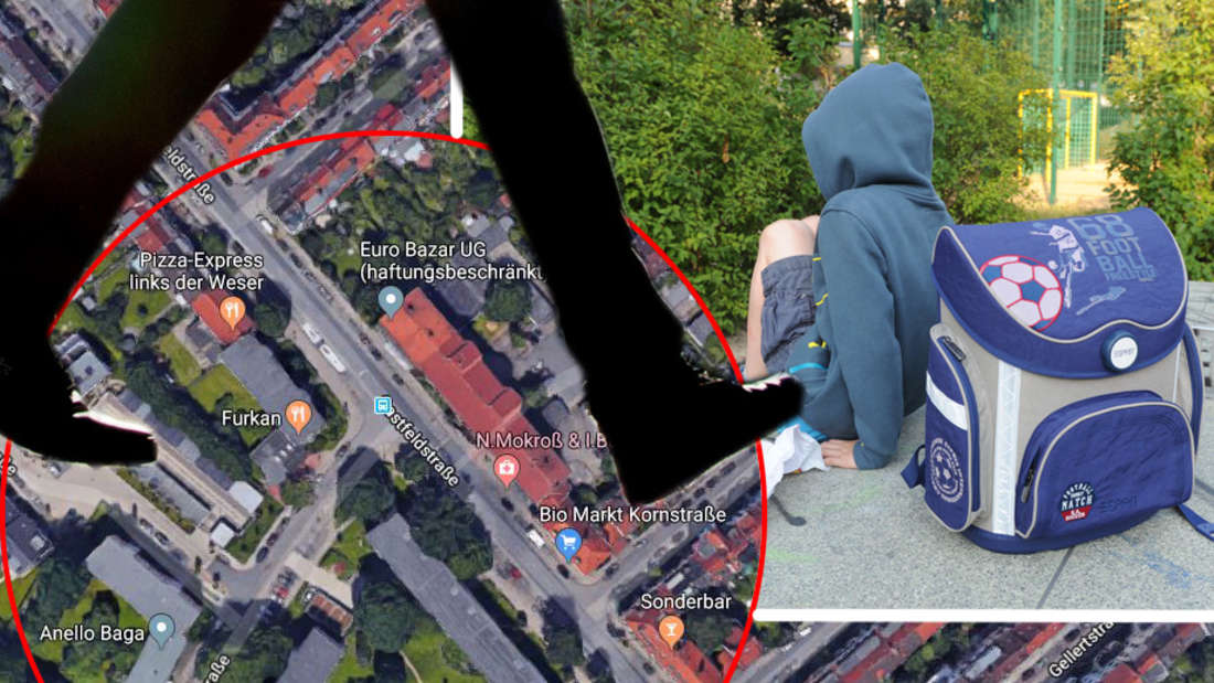 Bremen: Ein Dieb hat einen Jungen (10) bestohlen - das Kind stellte ihm bei der Flucht ein Bein.