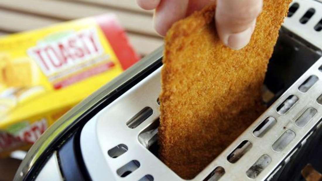 Heutzutage kommen nicht mehr nur Brötchen in den Toaster - das schreit nach einer guten Reinigung.