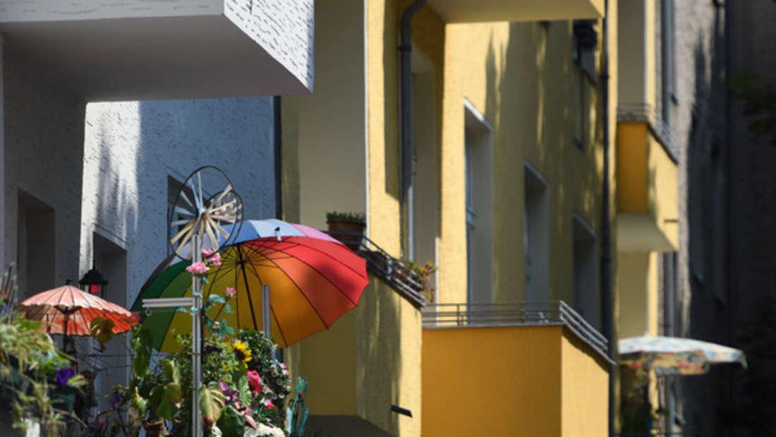 Was Bewohner auf ihrem Balkon in Berlin finden, ist kaum zu glauben.