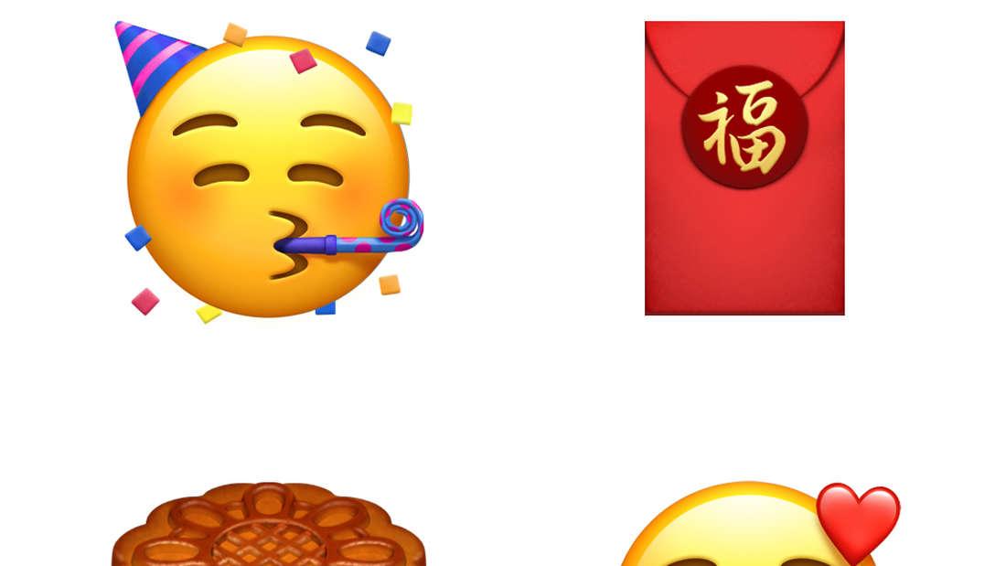 Zeigen Sie Ihrem Chatpartner mit den neuen Emojis noch mehr Liebe!