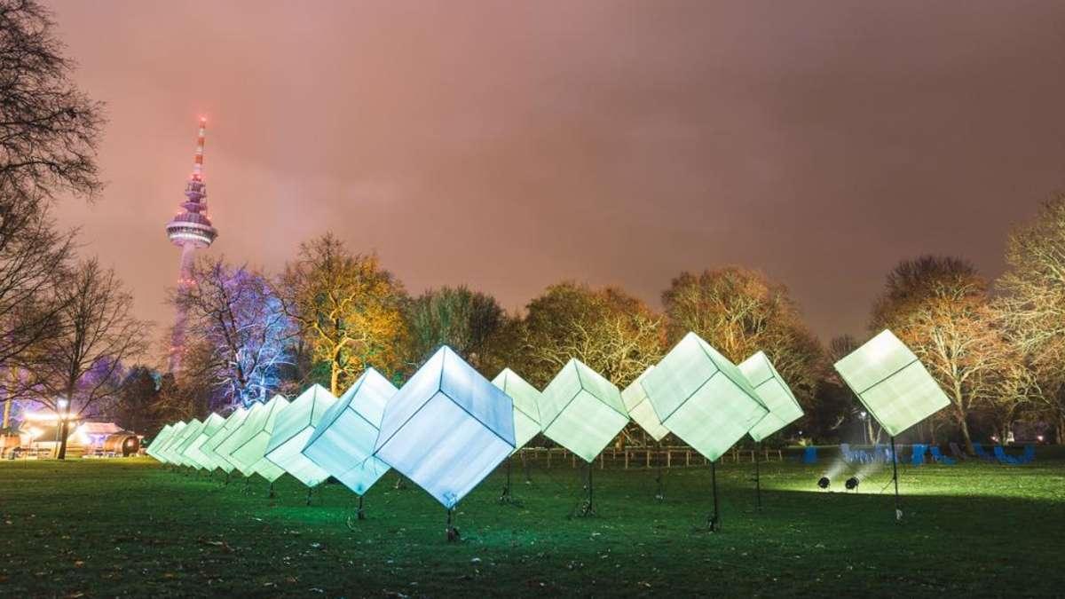mannheim winterlichter im januar 2019 im luisenpark. Black Bedroom Furniture Sets. Home Design Ideas