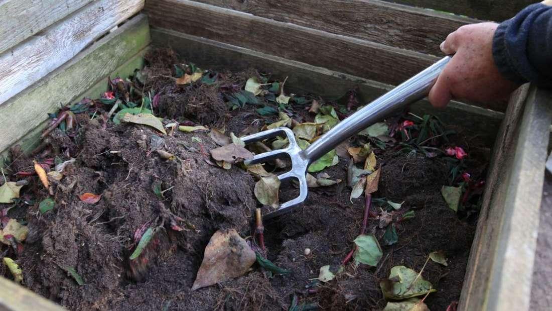Was gehört auf einem Kompost, was nicht: So gelingt der Kompost in jedem Garten.