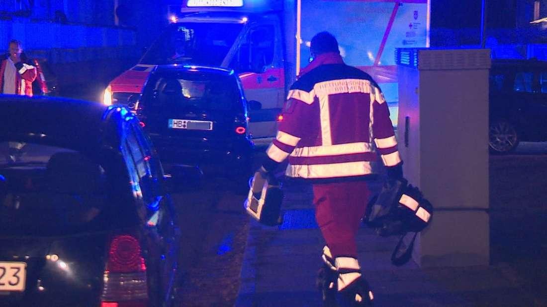 Ein Familienstreit endete in Bremen in einer schrecklichen Bluttat - Ein Mann wurde brutal von seinen Verwandten erstochen.