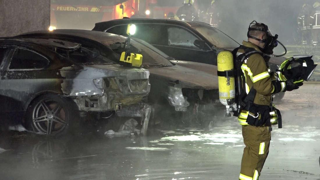 In einer Auto-Werkstatt in Hannover-List brach ein Groß-Feuer aus. Als die Flammen auf die Gas-Flaschen übergriffen, drohte durch die Explosionsgefahr ein wahres Inferno.