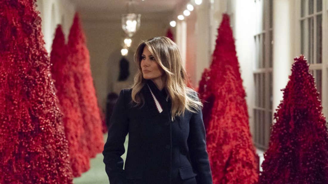 Das Weiße Haus erstrahlt in neuer Weihnachts-Deko - doch die Amerikaner sind nicht begeistert.