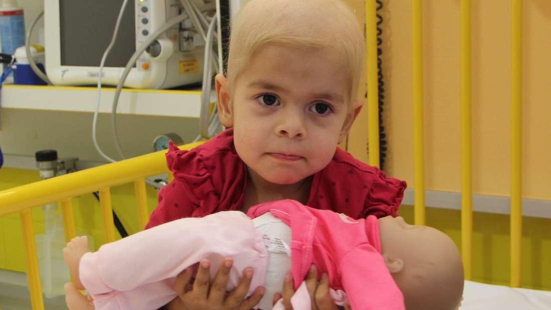 Mira M. vor der Blutkrebs-Diagnose