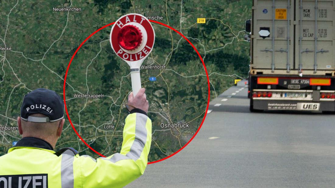 Osnabrück: Lkw-Kontrolle auf Autobahn A1 mit erschreckendem Ergebnis