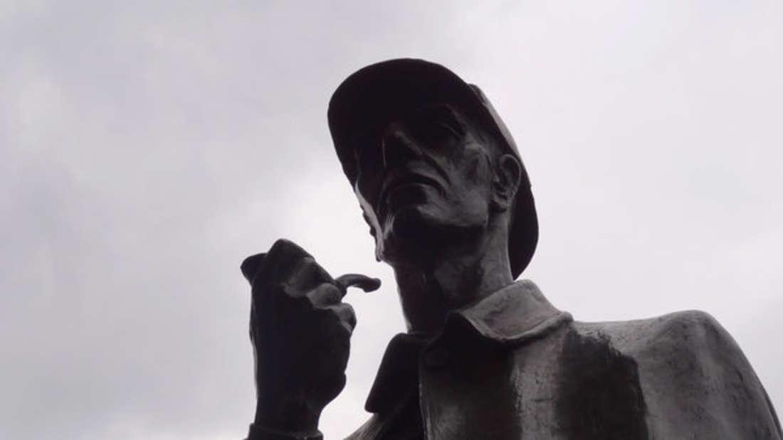 In London steht zu Ehren des Meisterdetektivs Sherlock Holmes sogar eine Statue (Symbolbild).