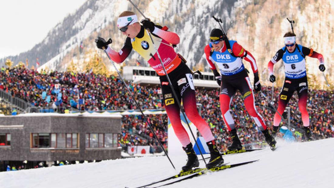 Biathlon-Weltcup Ruhpolding - Massenstart Männer