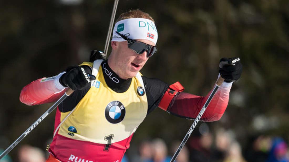 Biathlon-WeltcupJohannes Thingnes boe
