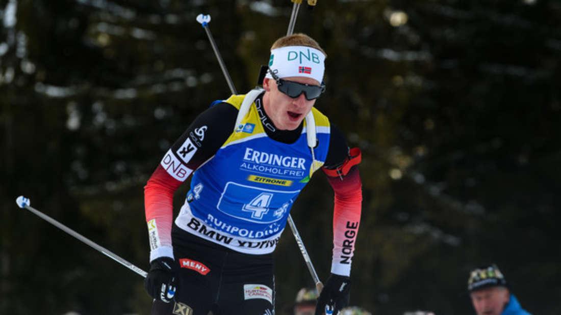 Biathlon-Weltcup Johannes Thingnes Bö